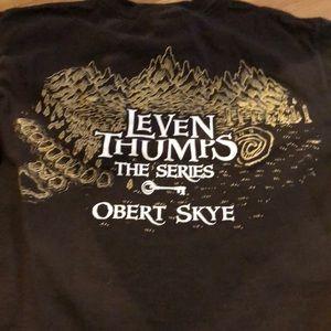Calling all Leven Thumps fans!  Official T-shirt